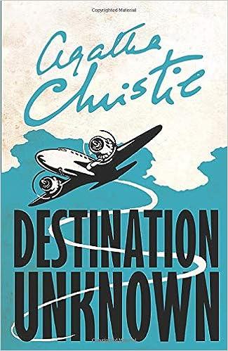 DESTINATION UNKNOWN: Amazon.co.uk: Christie: 9780008196363: Books