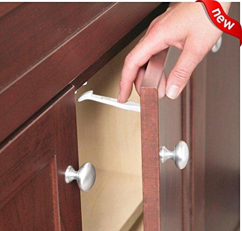 14 pieces Safety 1st Baby Cabinet Locks Wide Grip Latches Child Kids Door Drawer -