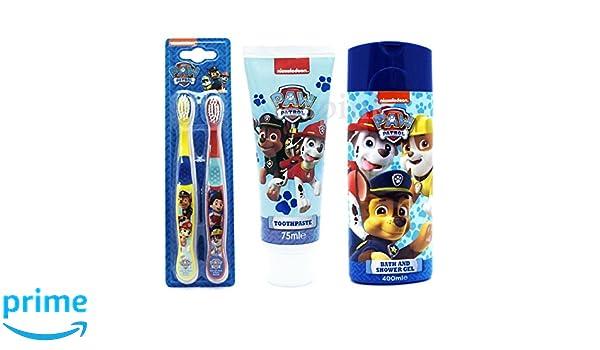 Paw Patrol 3 piezas de baño Set de regalo - Gel de Baño y ...
