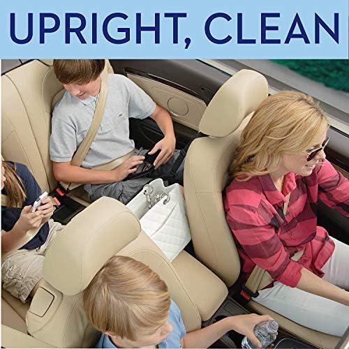 HENXING Car Net Pocket Handbag Holder, Universal Car Accessories Storage and Handbag Holding Net, Hanging Storage Bag Between Car Seats, Barrier of Backseat Pet Kids(Black)