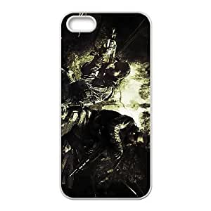 call of duty ghosts iPhone 5 5s Cell Phone Case White 53Go-452683