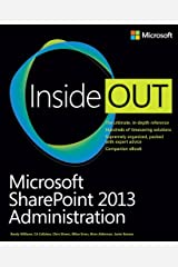 Microsoft SharePoint 2013 Administration Inside Out Paperback