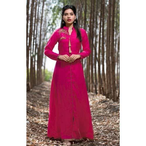 EMPORIUM indossare Pronto Vestito ETHNIC Casual donna Indian da XL Kameez Pink Kurti 717 Designer Salwar AddSwpqx