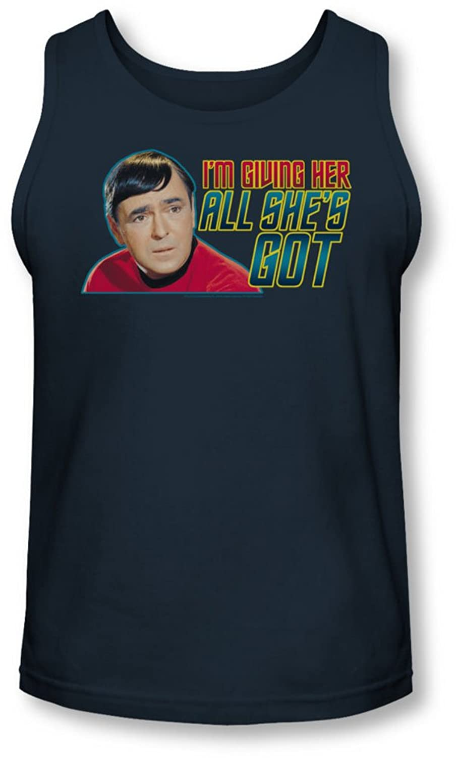 Star Trek - Mens All She'S Got Tank-Top