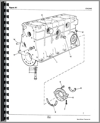 Case 995 (S/N 11070001 & UP) Deluxe Tractor Manual Kit ebook
