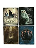 Fantastic Beasts and Where to Find Them School Supplies Bundle of 4 Poly Folders (3-Prong)