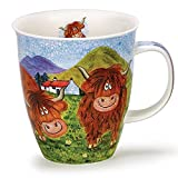 Lovely Highland Scottish Cow Dunoon Fine