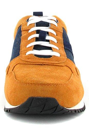 Timberland - Zapatos de cordones de Piel para hombre Naranja naranja Naranja - naranja