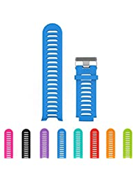 StrapsCo Silicone Sport Watch Band Strap for Garmin Vivoactive HR with tool