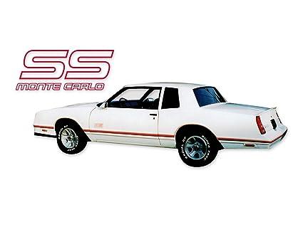 Ss Monte Carlo >> Amazon Com 1987 1988 Chevrolet Monte Carlo Ss Super Sport