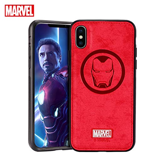 Marvel Avengers iPhone Xs/X Case, Iron Man Protective Phone Case Cellphone Cover ()
