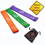 Cheap Fit Simplify Resistance Loop Bands Pro Series – Highest Resistance Exercise Bands – Set of 3 Booty Bands – with Instruction Guide, Carry Bag, Ebook and Online Workout Videos