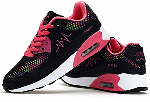 Black Women's Sports Padgene Max for Trainers Jogging Shoes Ladies Girls Running Sneaker Air Trainers Running 6wUx1q4U