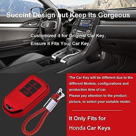 Kaser Autoschlüssel Hülle Für Honda Cover Tpu Silikon Elektronik