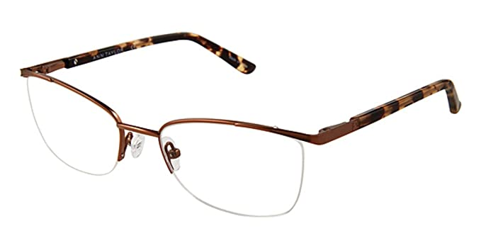 d8782ae037 Eyeglasses Ann Taylor AT 601 C02 MT BRN   TORT at Amazon Women s ...