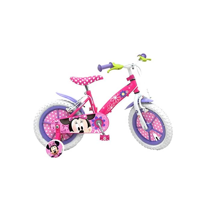 Stamp Minnie Bicycle, Niñas, Pink, 4-6
