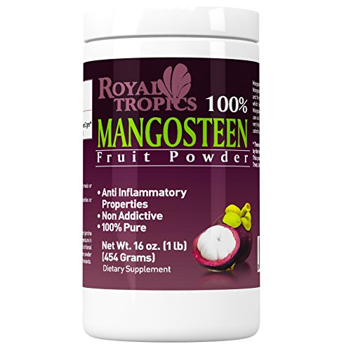 Mangosteen Powder, Antioxidant Supplement, Anti Inflammatory, Anti Bacteria, 1 Lb 454g.