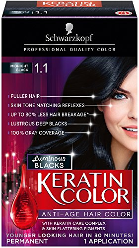 Best Jet Black Permanent Hair Color