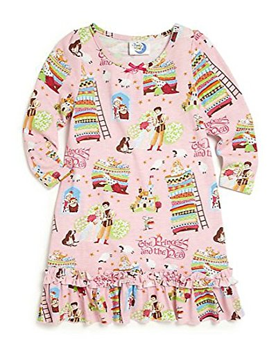 Books to Bed Princess and The Pea Nightgown Pajama (Doll Pajama)