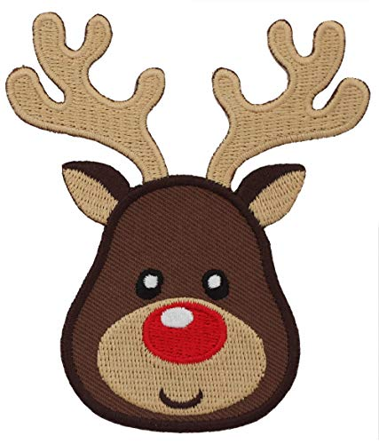 - PatchMommy Iron On Patch, Reindeer - Appliques for Kids Children