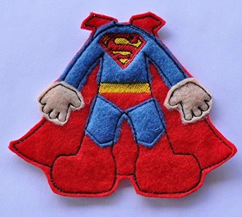 Super Hero Machine Applique Embroidery Files - Superman ...