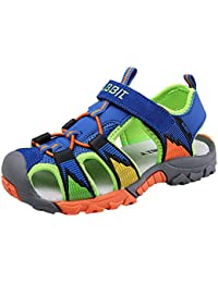 Boy's Girl's Summer Breathable Athletic Closed-Toe Strap Sandals (Toddler/Little Kid/Big Kid)