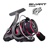 Cheap Saltwater Spinning Reel with Corrosion Resistant, Lightweight Fishing Reels for Saltwater Kayak Bass Fishing or Freshwater, Ultralight Inshore Surf Fishing Reel, Ice Fishing Pair with Rods Combos 3000