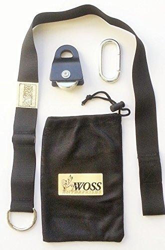 WOSS ROPE Trainer, mit Türanker, Made in USA (Zubehör Umlenkrolle mit Ankergurt)