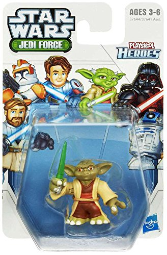Playskool Heroes, Star Wars Jedi Force Figure, Yoda