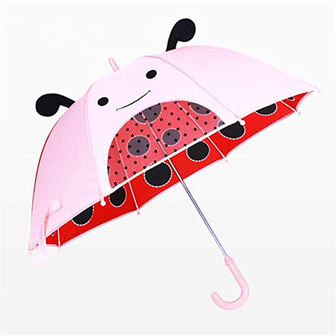 Amazon.com: J&D UMBRKIDS Baby Unicorn Princess Umbrella Kids Girls Rain Transparent Umbrella Little Girl Umbrellas Style A: Sports & Outdoors