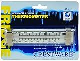Crestware Liquid Refrigerator/Freezer Thermometer