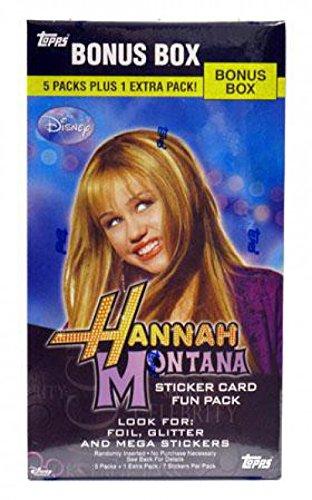 Topps Hannah Montana Value Box (6 Packs)
