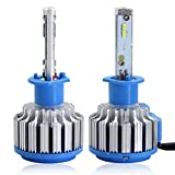Image of Win Power H1 LED Headlight CREE Bulbs Conversion Kits + Canbus (1 Pair)-2 Year Warranty