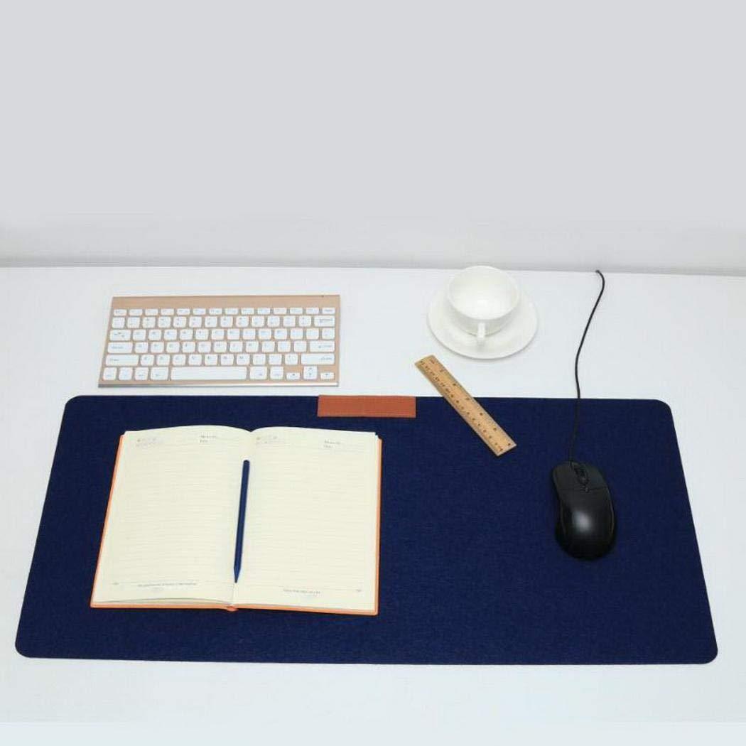 vobome Alfombra de Escritorio de Fieltro Grande para Escritorio Alfombrilla para ratón Gamer Alfombrilla Alfombrillas de ratón