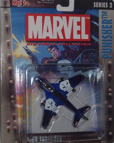 Maisto Ultimate Marvel Air Force Punisher A-6E Intruder F...