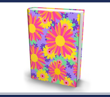 The Original Book Sox - Jumbo Spring Flowers