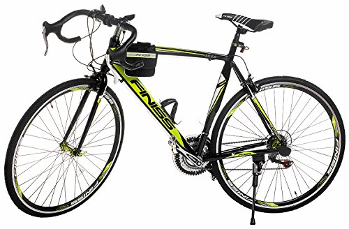 Merax Finiss Aluminum 21 Speed 700C Road Bike Racing Bicycle Shimano (Green & Black, 54 cm)