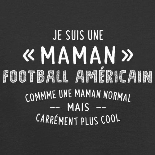 une maman normal football américain - Femme T-Shirt - Noir - S