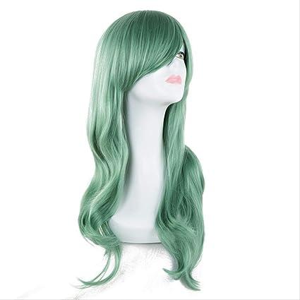 Lady Wig, pelucas onduladas largas de fibra sintética resistente ...