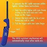 Multipurpose Lighter, 4 Pack