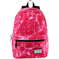 HotStyle TrendyMax Electric Pattern Kids School Backpack Fits 15-inch Laptop, Pink