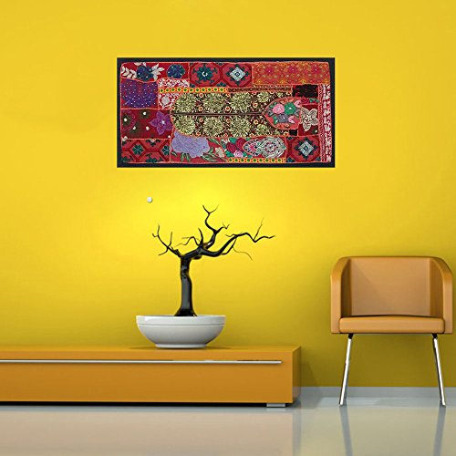 Garden  Decor Pathcwork Wall  Hanging - boho chic tapestry