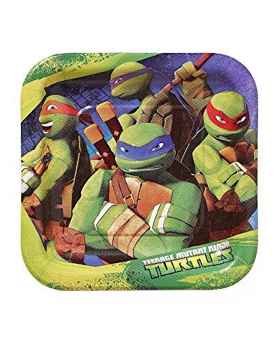 ninja turtle birthday plates - 6