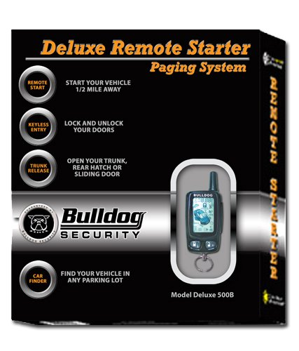 galleon bulldog security deluxe500b remote starter with. Black Bedroom Furniture Sets. Home Design Ideas