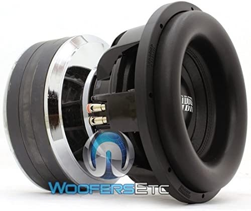 Sundown Audio Team 12 D2 1.4DCR 12 5000W RMS Dual 2-Ohm Team Series Subwoofer