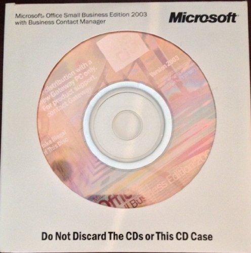 Microsoft Office Small Business 2003 product image