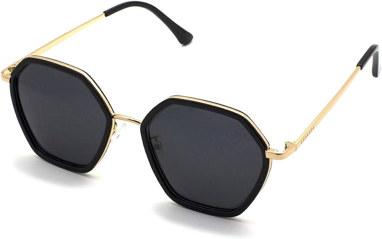 PERXEUS DELHI - Gafas de Sol para mujer. Ligeras y Resistentes - Protección UV400 + Lentes Polarizadas. [Gafas Grandes]