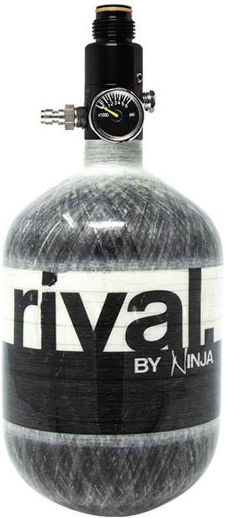 Amazon.com : Ninja Rival Paintball Carbon Fiber 50ci 4500psi ...