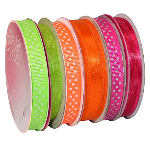 Morex Ribbon 6-Pack Polyester/Nylon Sweet