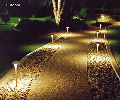 ALIDE MR16 GU5.3 Led Bulbs 5W,20W 35W Halogen Replacement Equivalent,2700K Soft Warm White,12V Low Voltage Bulb Spotlights for Outdoor Landscape Flood Track Lighting,Not Dimmable,50mm,400lm,38°,6pcs by ALIDE (Image #5)